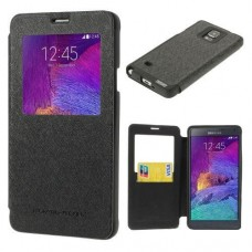 Чехол книжка для Samsung Galaxy Note 4 Mercury Wow Bumper series