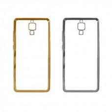 Чехол силиконовый для Xiaomi Redmi Note 4 (MediaTek) (С глянцевой окантовкой)