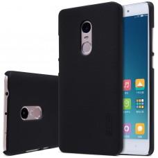 Чехол пластиковый для Xiaomi Redmi Note 4  (MediaTek) Nillkin Matte + защитная пленка в подарок