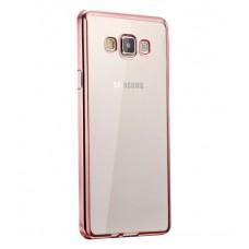 Чехол силиконовый для Samsung Galaxy J2 Prime 2016 (С глянцевой окантовкой)
