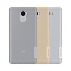 Чехол полиуретановый для Xiaomi Redmi 4 Nillkin Nature Series