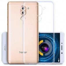 Чехол силиконовый для Huawei Honor 6X / Mate 9 Lite Ультратонкий