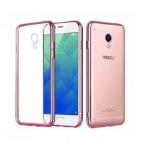 Чехол силиконовый для Meizu M5s (С глянцевой окантовкой)