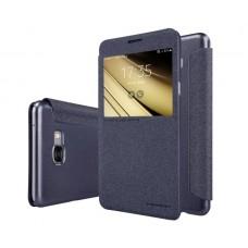 Чехол кожаный для Samsung Galaxy C7 Nillkin Sparkle