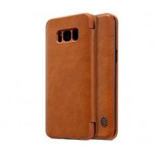 Чехол кожаный для Samsung Galaxy S8 Plus Nillkin Qin