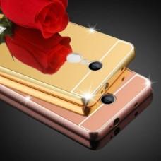 Бампер алюминиевый для Xiaomi Redmi Note 4 (С акриловой вставкой)