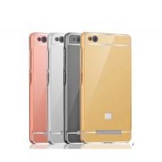 Чехол алюминиевый для Xiaomi Redmi 4a (Зеркальное покрытие)
