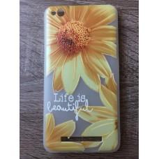 Чехол силиконовый для Xiaomi Redmi 4a Summer