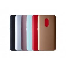 Чехол пластиковый для Xiaomi Redmi Note 4 (MediaTek) Металлик
