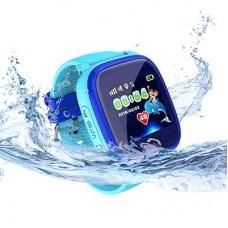 Детские часы DF25 с телефоном и GPS (Водонепроницаемые)