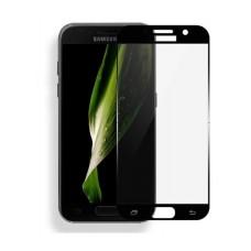 Защитное стекло 3D для Samsung Galaxy A7 2017 (На весь экран)