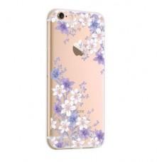 Чехол силиконовый для iPhone 7 «Цветочный орнамент»