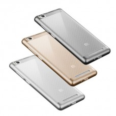 Силиконовый чехол для Xiaomi Redmi 3 «Msvii» +защитное стекло