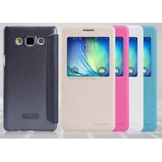 Чехол для Samsung Galaxy A5 Nillkin Sparkle (Кожа+пластик)