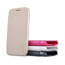 Чехол кожаный для Samsung Galaxy J1 Duos Nillkin Sparkle