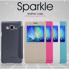 Чехол кожаный для Samsung Galaxy A7 Nillkin Sparkle