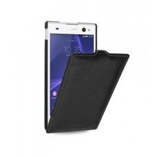 Чехол кожаный для Sony Xperia С3 TETDED