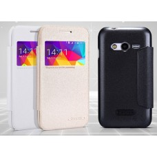 Чехол для Samsung Galaxy Ace 4 Nillkin Sparkle (Кожа+пластик)