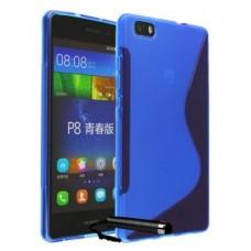 """Чехол полиуретановый для Huawei Ascend P8 """"Duotone"""""""