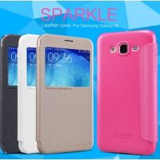 Чехол для Samsung Galaxy J7 Nillkin Sparkle (Кожа+пластик)