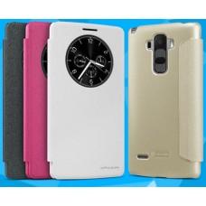 Чехол для LG G4 Stylus Nillkin Sparkle (Кожа+пластик)