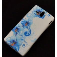 "Чехол полиуретановый для Blackberry Z10 ""Colorful Crystal"""