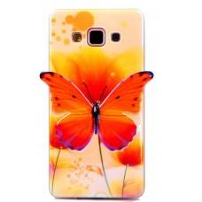 Чехол полиуретановый для Samsung Galaxy A5 Butterfly's Case