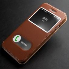 Чехол кожаный для iPhоne 6/6 Plus Luxury Genuine
