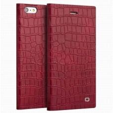 Чехол для iPhone 6/6 Plus Qialino (Крокодиловая кожа)
