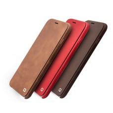 Чехол кожаный для iPhоne 6/6 Plus Qialino «Шарм»