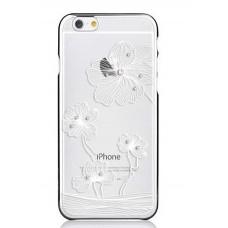 Чехол пластиковый для iPhone 6 Comma Crystal Flora