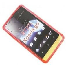 Чехол полиуретановый для Sony Xperia Go Duotone