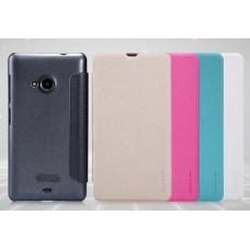 Чехол кожаный для Nokia Lumia 535 Nillkin Sparkle Series