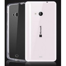 Чехол силиконовый для Nokia Lumia 535 Ultrathin Series (0,33 мм)