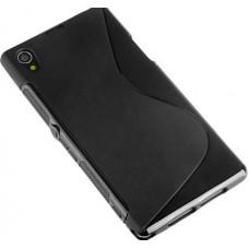 "Чехол силиконовый для Sony Xperia Z1 L39h ""Wave"""