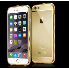Бампер алюминиевый для iPhone 6/6 Plus Water Ripples (1 мм)