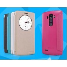 Чехол кожаный для LG G4 Nillkin Sparkle Series