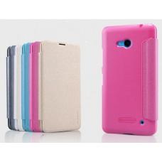 Чехол кожаный для Nokia Lumia 640 Nillkin Sparkle Series