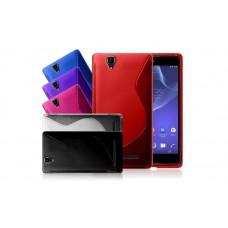 "Чехол силиконовый для Sony Xperia T2 Ultra ""X-Protection"""