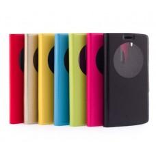 Чехол кожаный для LG G3s Book-Case