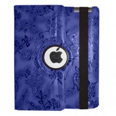 "Чехол для Apple iPad 5 Air TTX ""Black Flowers"" искусственная кожа"