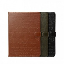 Чехол кожаный для iPad 5 Air Zenus Masstige Lettering Diary Series