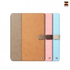 """Чехол кожаный для Apple iPad 5 Air Zenus """"Crayon"""""""
