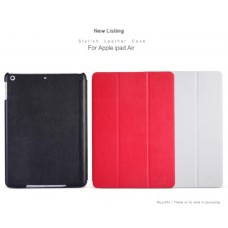 """Чехол кожаный для iPad 5 Air """"Stylish"""" Nillkin + защитная пленка в подарок!"""