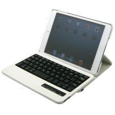 Чехол кожаный с клавиатурой для планшета iPad mini