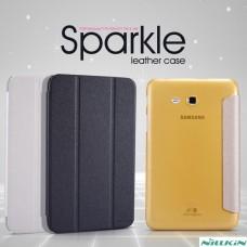 "Чехол для Samsung Galaxy Tab 3 Lite Nillkin Sparkle Series ""Ease"" кожа+пластик"