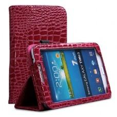 """Чехол кожаный для Samsung Galaxy Tab 3 7.0 T210/T211 """"Fashion"""""""
