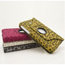 "Чехол кожаный для Samsung Galaxy Tab 3 7.0 P3200/P3210 ""Fashion Leopard"""