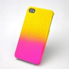 """Чехол пластиковый для iPhone 4/4S """"Градация"""""""