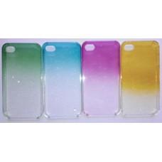 """Чехол пластиковый для iPhone 4 / 4S """"Капельки"""""""
